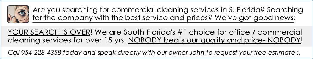 prime janitorial cleaning services of south florida